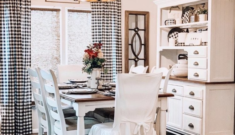 Buccaneer Double Wide Remodel Dining Room Farmhouse Decor