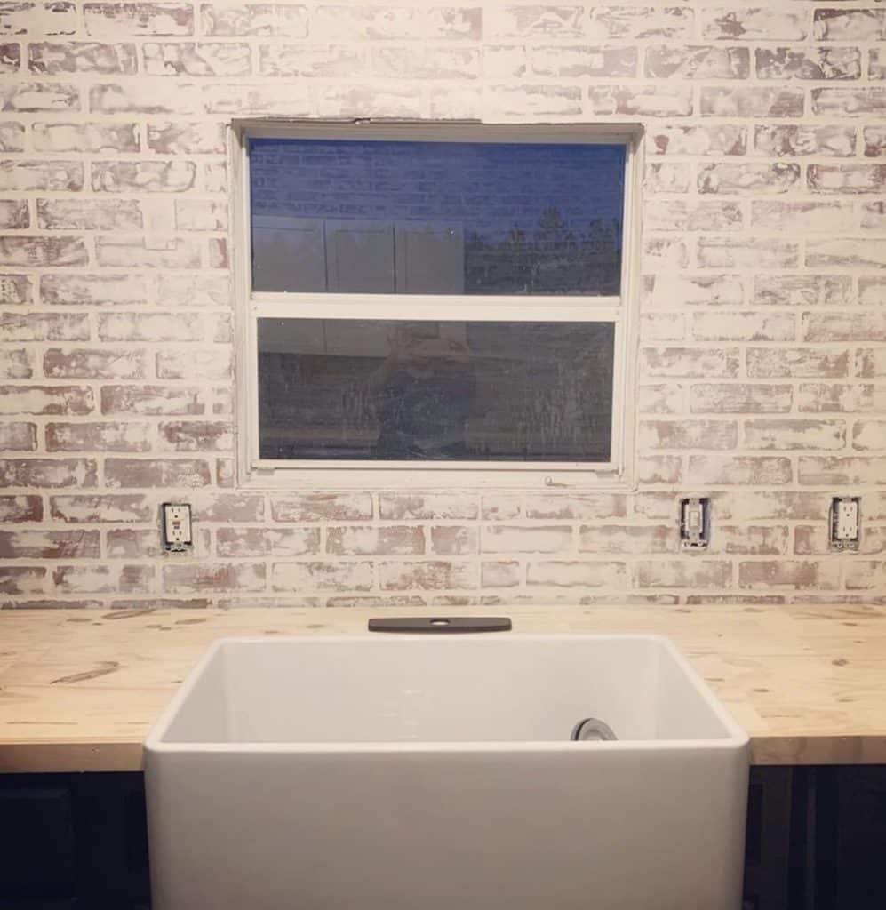 Buccaneer Double Wide Remodel New Sink In Kitchen