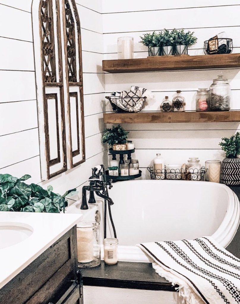 Buccaneer double wide remodel soaker tub