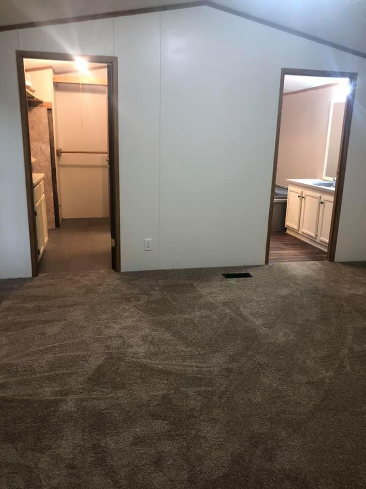 Single wide master bedroom