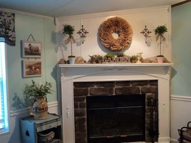 Teresa's Spectacular Double Wide Kitchen Makeover 12