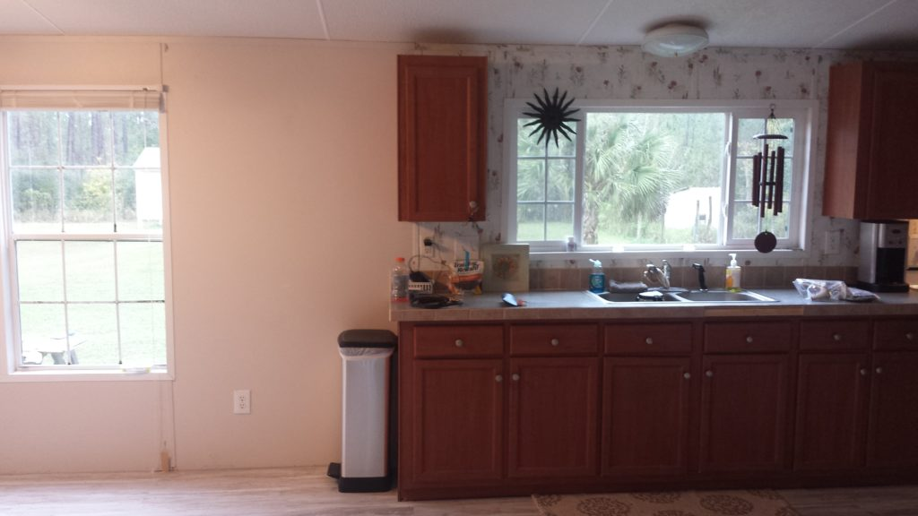 Fleetwood double wide remodel before