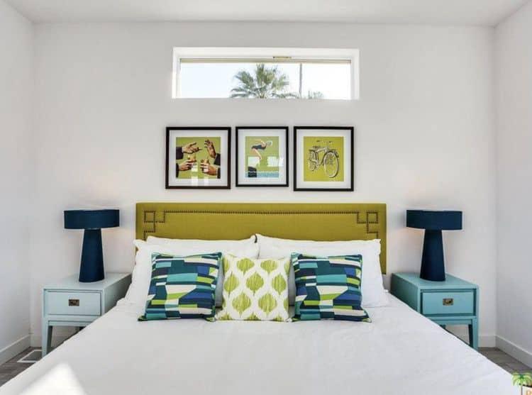 Mid-century modern mobile homes - gorgeous bedroom design