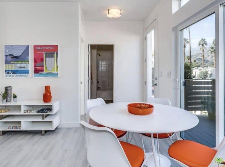 2019 mid mod palm springs - dining room