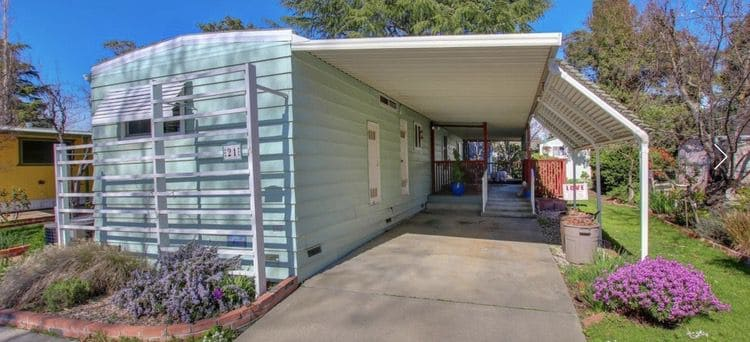 single wide mobile home aluminum awning