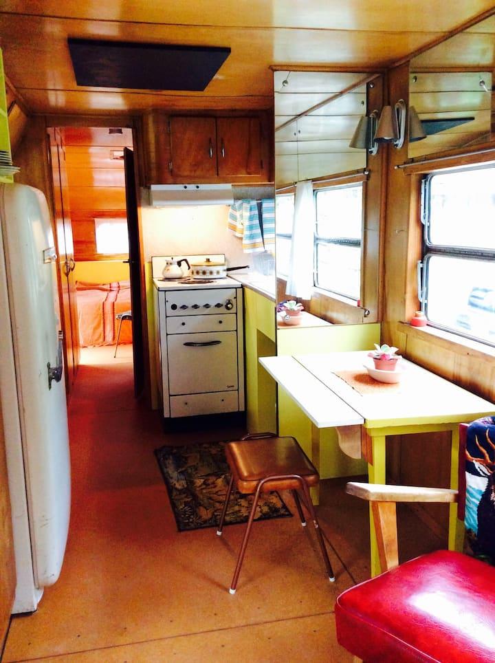 50s spartan caravan interior