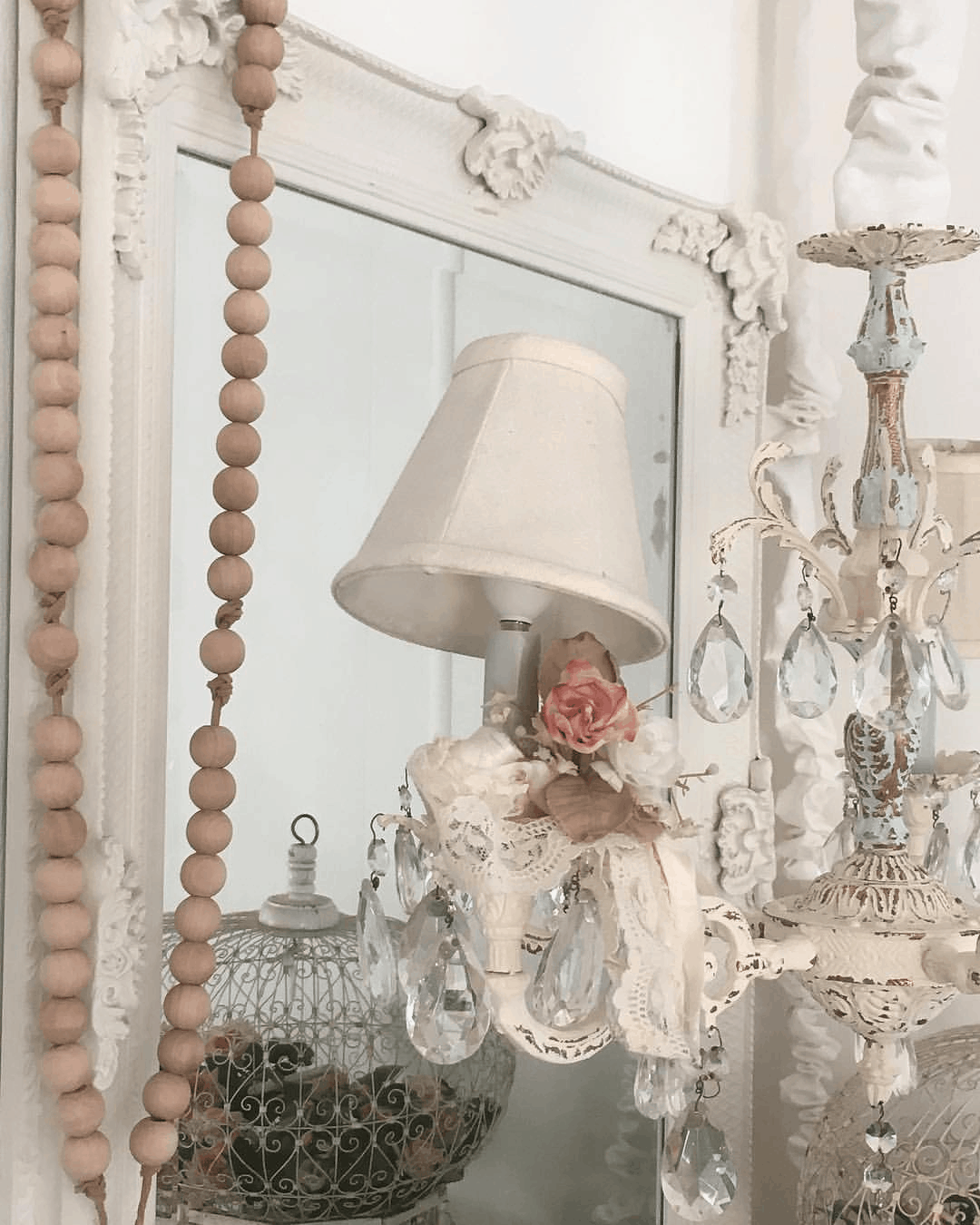 romantic shabby chic mobile home cottage style decor