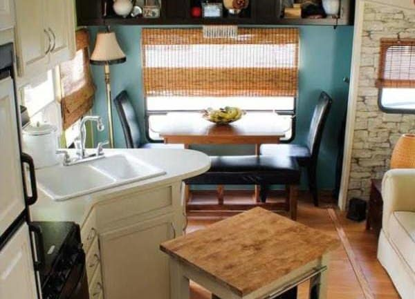 Camper Decorating Ideas: Laura's 5th Wheel Makeover