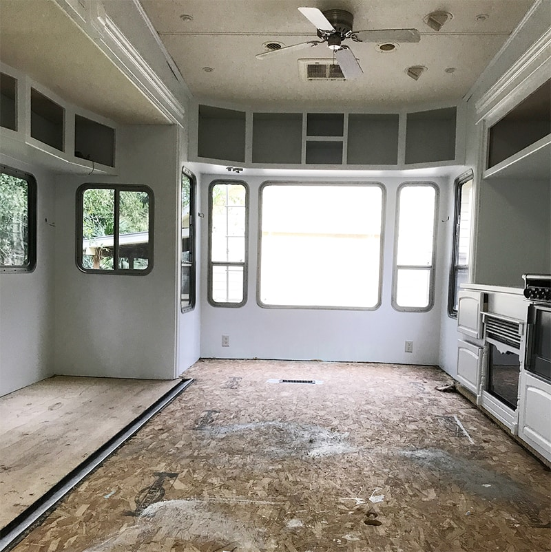 Th wheel during remodel