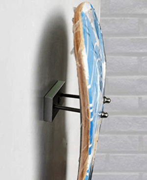Amazon com yyst skateboard floating deck display wall mount rack holder hanger no board hardware included 6 pk gateway