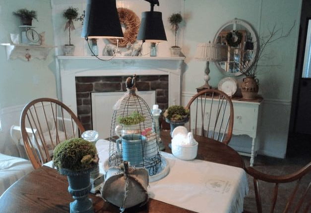 beautiful farmhouse double wide kitchen makeover