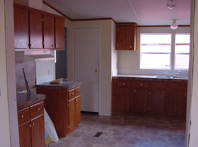 Teresa's Spectacular Double Wide Kitchen Makeover 1
