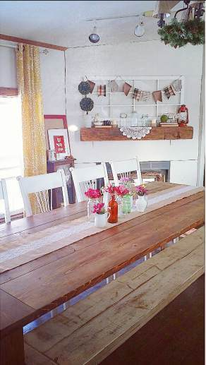 Country Cottage Manufactured Home Decorating ideas- Dining Room 3