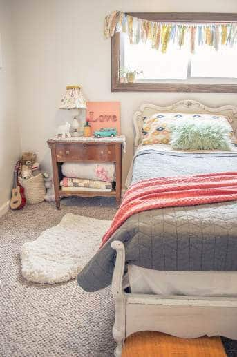 Country Cottage Manufactured Home Decorating ideas - Little Girls Bedroom 4