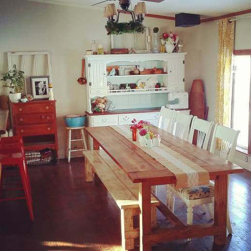 Country Cottage Manufactured Home Decorating ideas- Dining Room 2