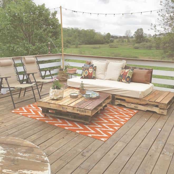 Country Cottage Manufactured Home Decorating ideas-for decks 3