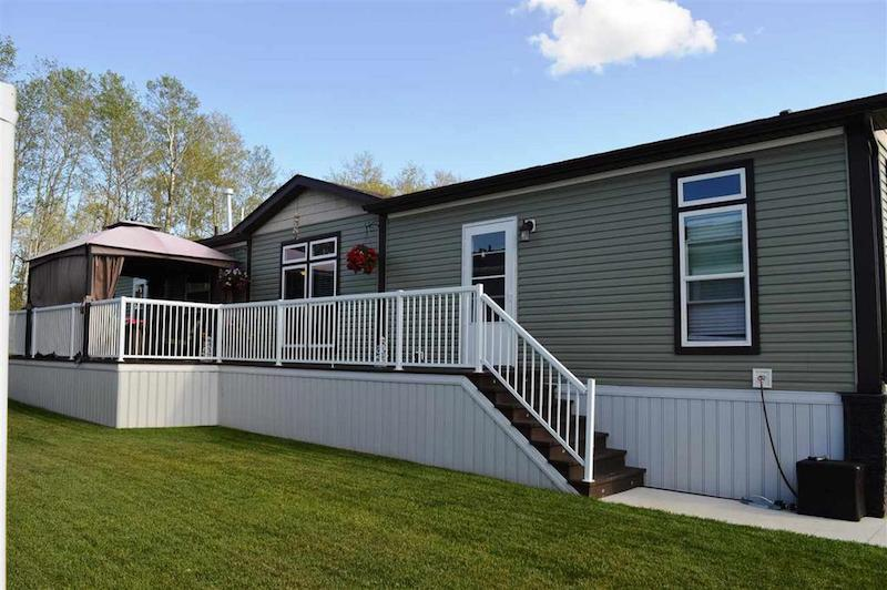 Canadian mobile homes - 20 foot wide single wide homes - exterior