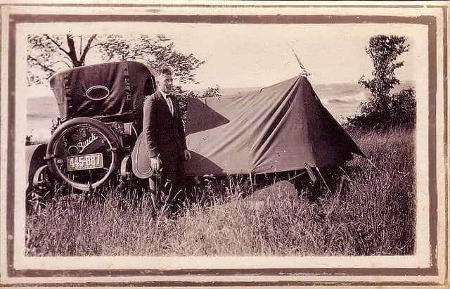 Tents of the 1920s and 30s