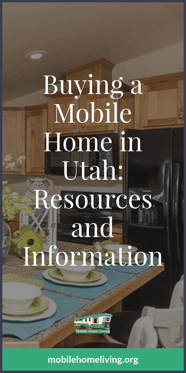 Buying a Mobile Home in Utah- Resources and Information