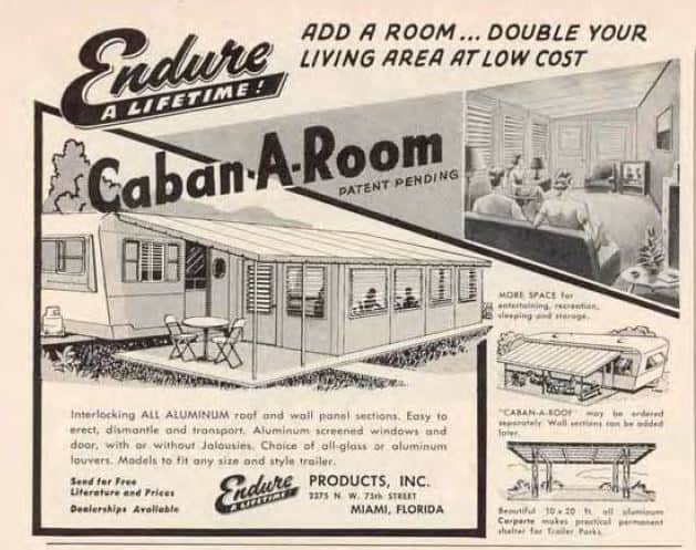 Caba A Room Aluminum Sun Shed Ad From 1955