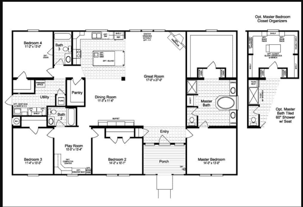 Casa grande floor plan