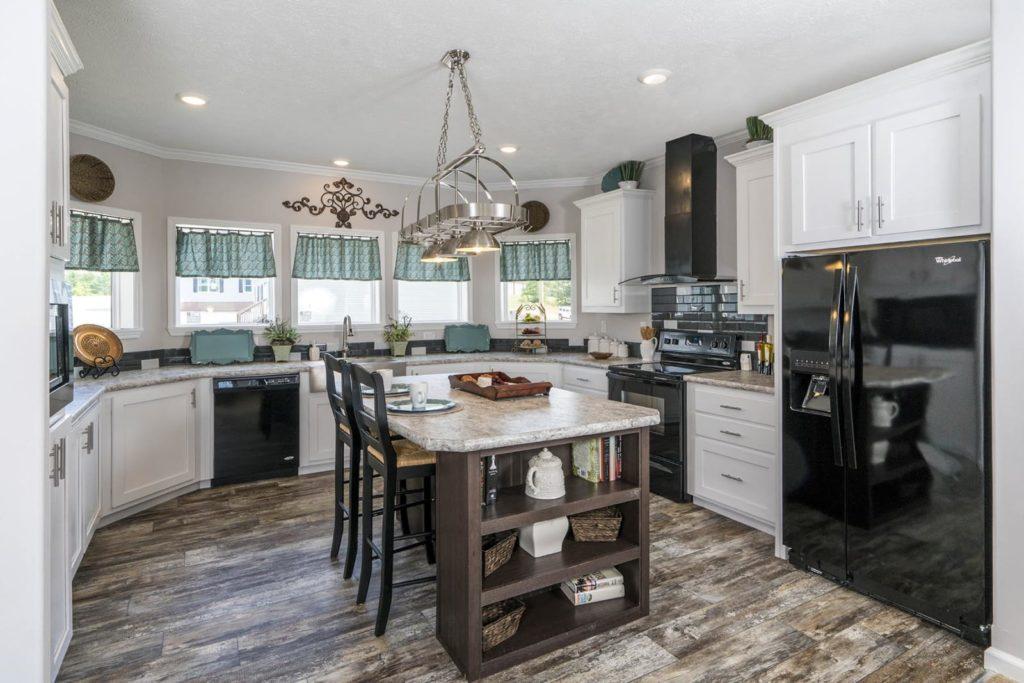 Cove view kitchen