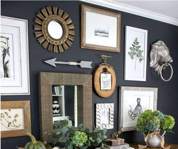 Create an Awesome Gallery Wall for Less Than $50!