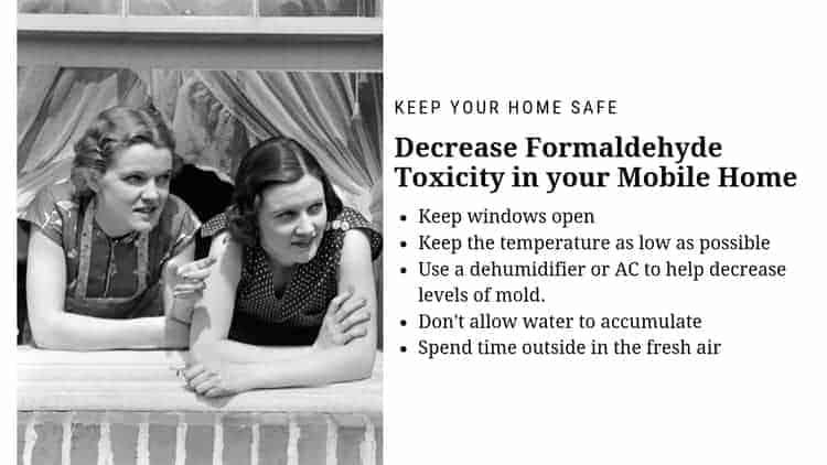 Decrease Formaldehyde Toxicity in your Mobile Home