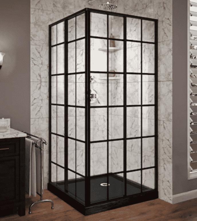 Dreamline french corner shower kit