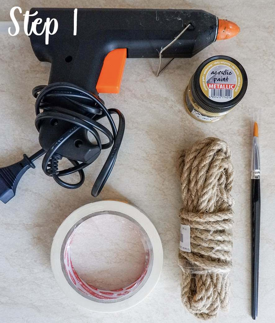 Easy rope coaster craft step by step 0