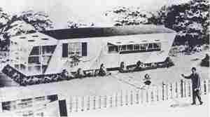 Elcar Sun Car vintage mobile home