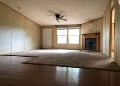 Elijah Charity Living Room Before