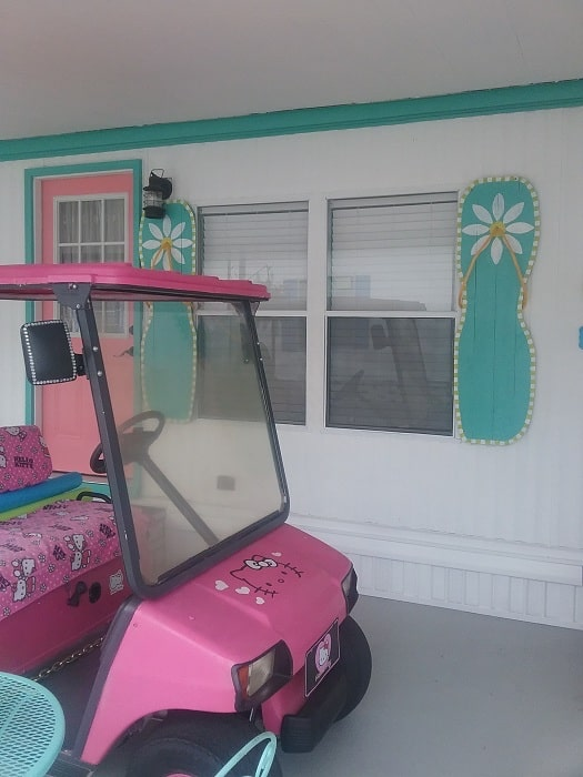 Entrance And The Hello Kitty Cart Copy