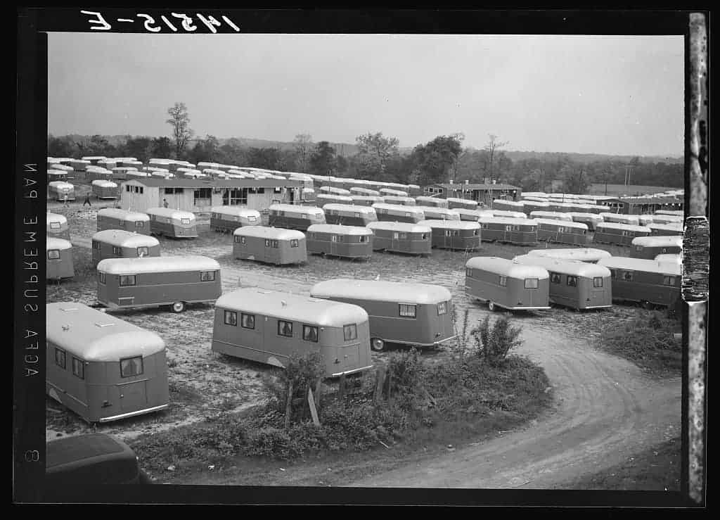FSA-trailer-camp-for-workers-at-Vultee-Aircraft-Plant-Nashville-TN-May-1941