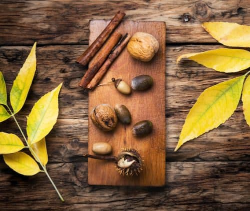 Fall decorating ideas you can actually afford acorns 500x423 1