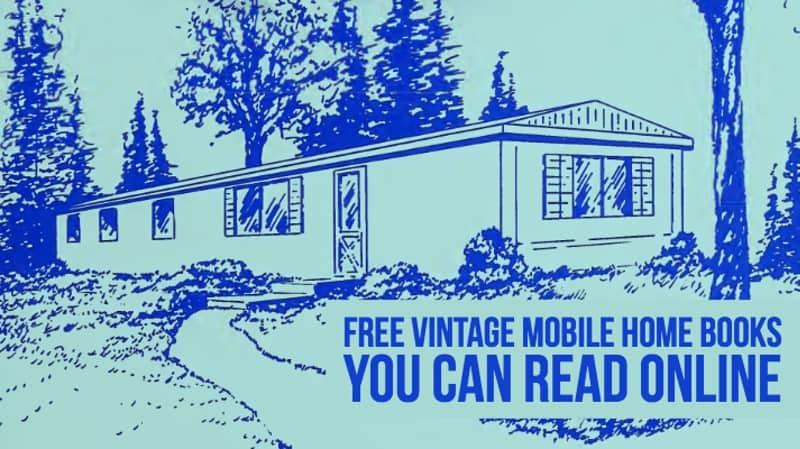 Free Vintage mobile Home Books