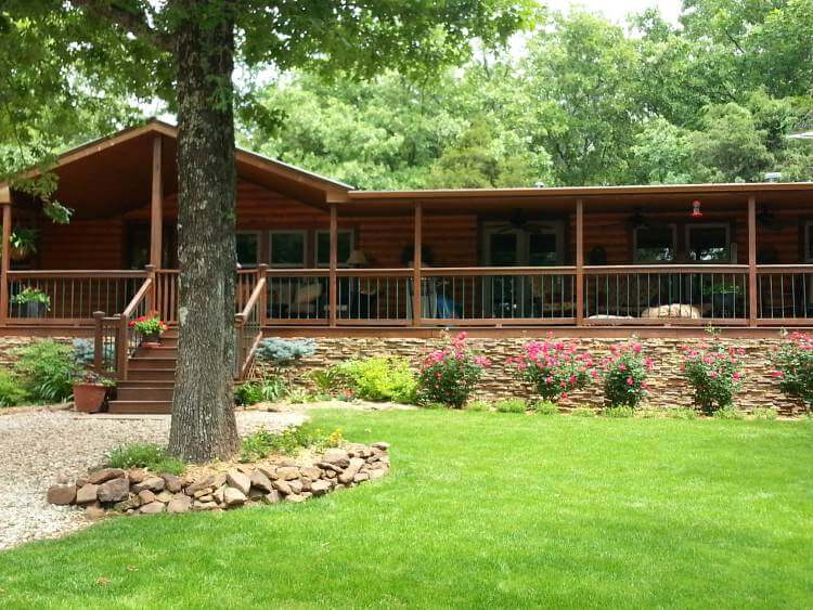 Manufactured Home After Rustic cabin Remodel and Makeover