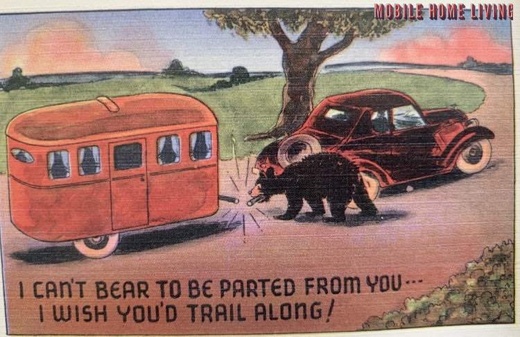Funny Vintage Trailer And Mobile Home Postcards10 1