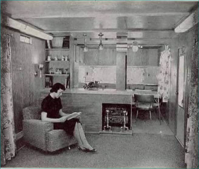 Mobile Home Kitchens From 1955 To 1960 • Mobile Home Living on victorian blue, industrial blue, texas home blue, florida home blue, charleston home blue,