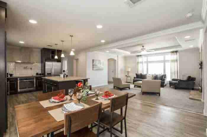 Hillcrest IV - Best Manufactured Home Design Winner 2016 - Dining Room 2