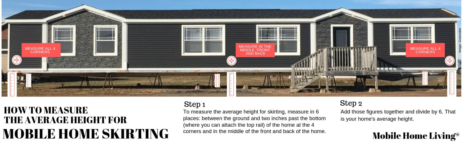 The Ultimate Mobile Home Skirting Guide   Mobile Home Living on metal homes, multi-family homes, trailer homes, colorado homes, miniature homes, ranch homes, old homes, unique homes, portable homes, vacation homes, stilt homes, awnings for homes, townhouse homes, prefabricated homes, mega homes, victorian homes, brick homes, movable homes, rv homes, prefab homes,
