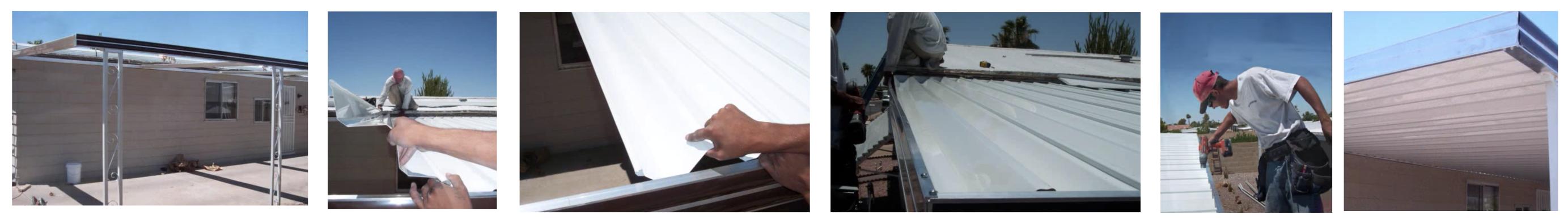 INstalling A Mobile Home Carport