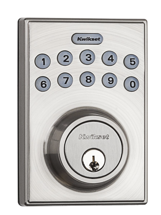 Kwikset 92640 001 contemporary electronic keypad