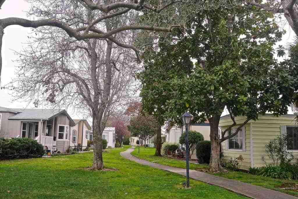 Mobile home park by Lynn friedman