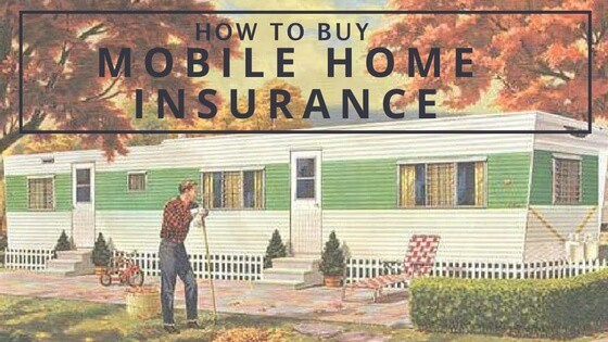 how to buy mobile home i9nsurance