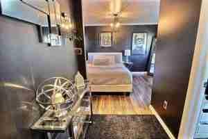 Monster Inspired Mobile Home - Bedroom