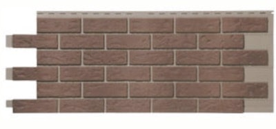 Novik Red Used Blend Simulated Brick Skirting Panel