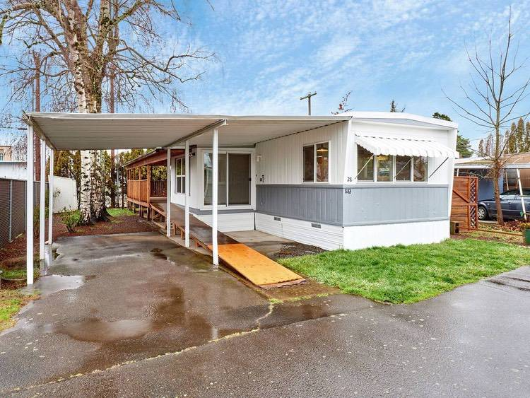 OR Single Wide For Sale Mobile Home Carport Ideas
