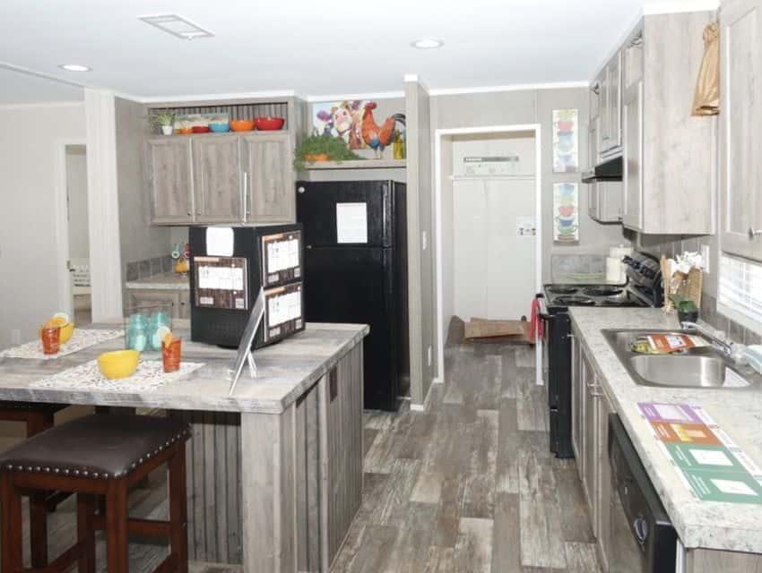 Oak Creek Homes Magnificient Seven Model Kitchen 2