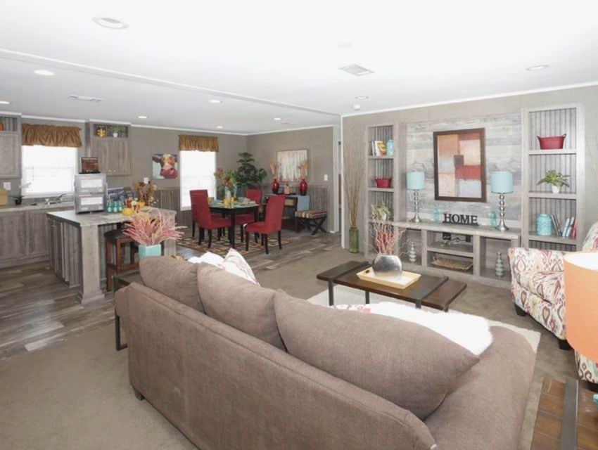 Oak Creek Homes Magnificient Seven Model Living Room 2